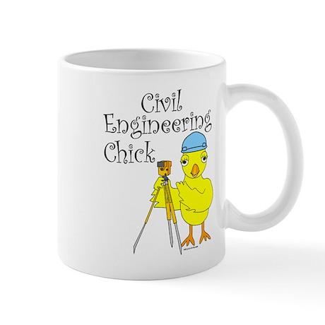 Civil Engineer Chick Mug