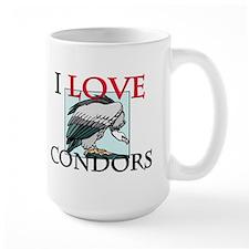 I Love Condors Mug