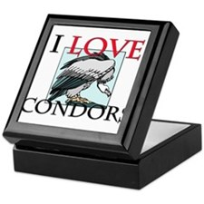 I Love Condors Keepsake Box