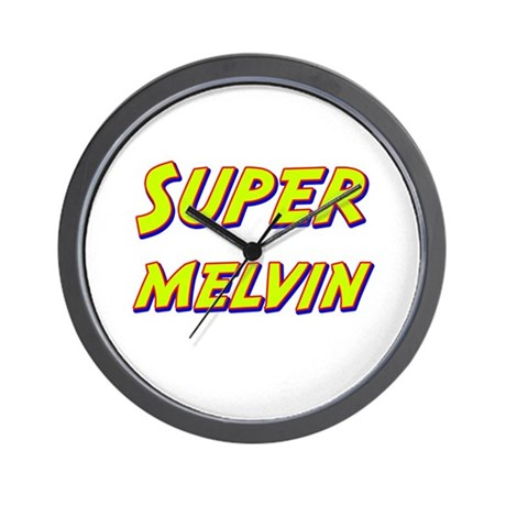 Super melvin Wall Clock