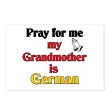 Pray for me my grandmother is German Postcards (Pa