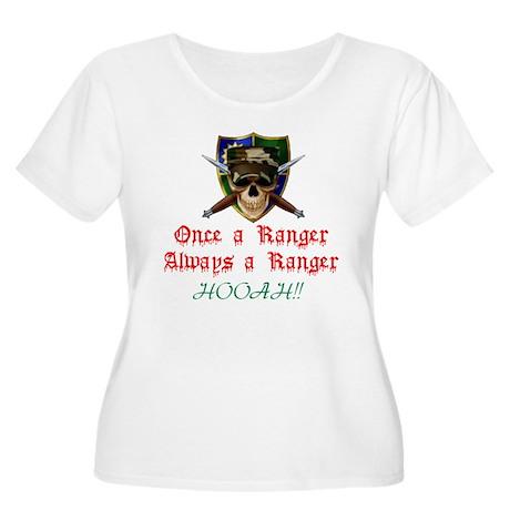 Range for Life Women's Plus Size Scoop Neck T-Shir