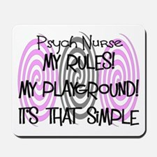Psych Nurse Mousepad
