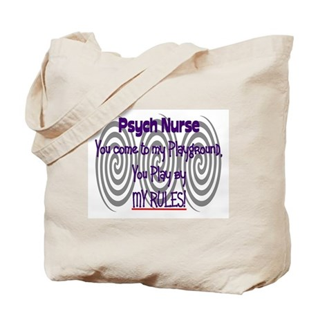 Psych Nurse Tote Bag