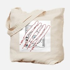 Scratched CDJ-1000 Tote Bag