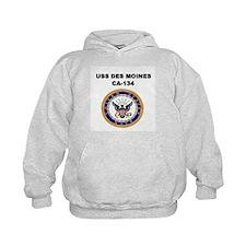 USS DES MOINES Hoodie