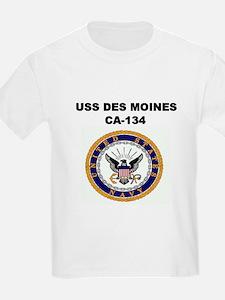USS DES MOINES Kids T-Shirt