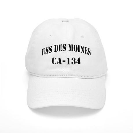 USS DES MOINES Cap
