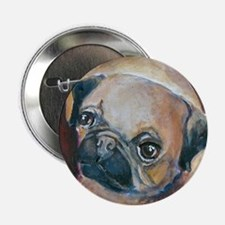"""Pug on a Rug"" Button"