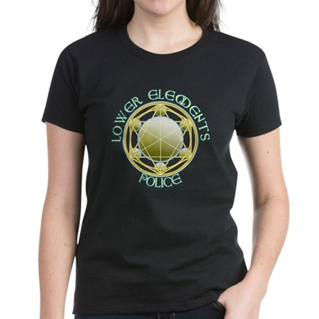 Lower Elements Police Women's Dark T-Shirt