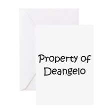 Unique Deangelo's Greeting Card