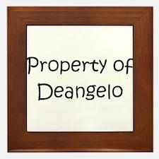 Cool Deangelo Framed Tile