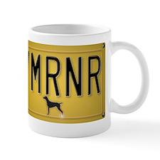 YMRNR License Plate Mug