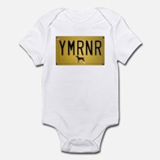 YMRNR License Plate Infant Bodysuit