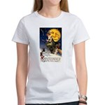 Witches Riding By Women's T-Shirt