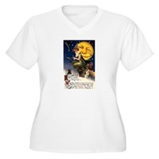 Witches Riding By T-Shirt