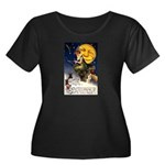 Witches Riding By Women's Plus Size Scoop Neck Dar