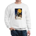 Witches Riding By Sweatshirt
