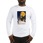 Witches Riding By Long Sleeve T-Shirt