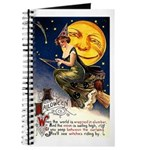 Witches Riding By Journal