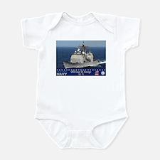 USS Cape St. George CG-71 Infant Bodysuit
