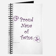 Proud Nana of Twins PRP Journal