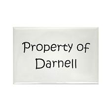 Unique Darnell Rectangle Magnet