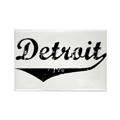 Detroit Rectangle Magnet