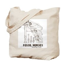 Fossil Horses Tote Bag