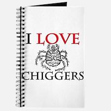 I Love Chiggers Journal