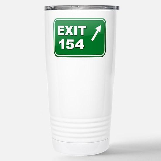 Exit 154 Stainless Steel Travel Mug