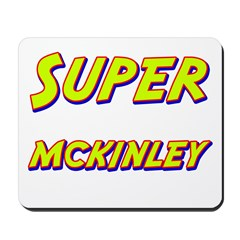 Super mckinley Mousepad