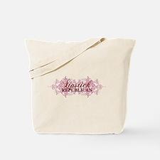 Lipstick Republican Tote Bag