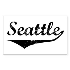 Seattle Rectangle Decal
