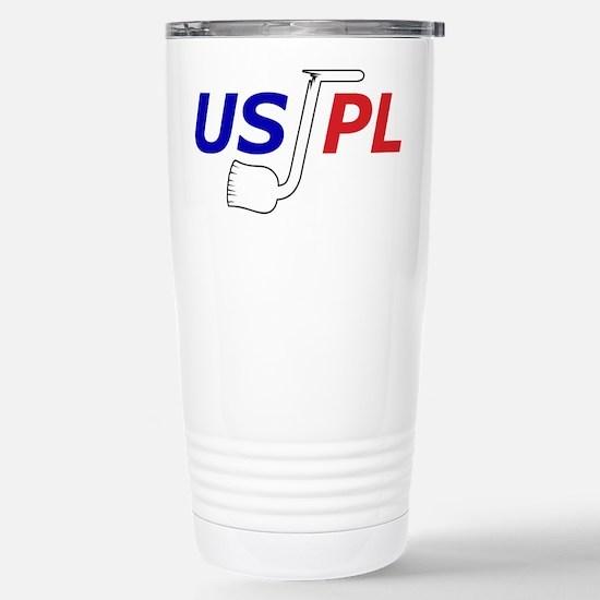 USJPL MiniLogo Stainless Steel Travel Mug
