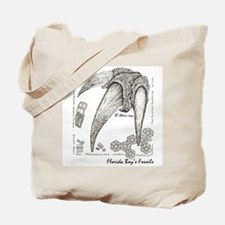 Fossil Armadillo and Ground Sloth Tote Bag