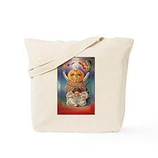 Scary Pumpkin Tote Bag