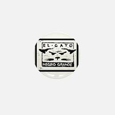 GATO NEGRO Mini Button