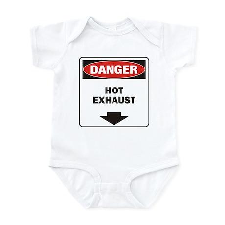 Danger Exhaust Infant Bodysuit