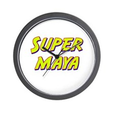 Super maya Wall Clock