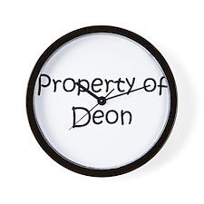 Unique Deon Wall Clock