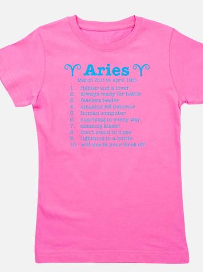 Funny Aries Girl's Tee