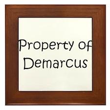 Unique Demarcus Framed Tile
