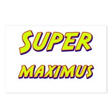 Super maximus Postcards (Package of 8)