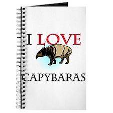 I Love Capybaras Journal