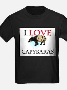 I Love Capybaras T