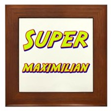 Super maximilian Framed Tile