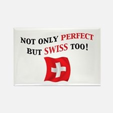 Perfect Swiss 2 Rectangle Magnet