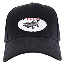 I Love Canadian Geese Baseball Hat