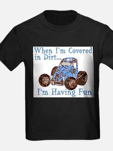 HappyDirtyKidsNoWingBlue T-Shirt